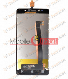 Lcd Display With Touch Screen Digitizer Panel For Intex Aqua Shine 4G