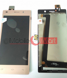 Lcd Display+Touch Screen Digitizer Panel For Intex Aqua Power Plus