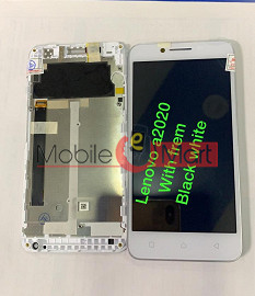 Lcd Display+Touch Screen Digitizer Panel For Lenovo Vibe C A2020