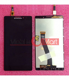 Lcd Display+Touch Screen Digitizer Panel For Lenovo Vibe Z K910