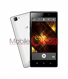 Lcd Display With Touch Screen Digitizer Panel For Lyf Flame 8