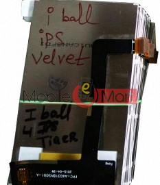 Lcd Display Screen Replacement For IBall Andi4 IPS Velvet