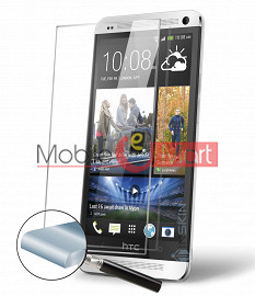 Htc One Tempered Glass Scratch Gaurd Screen Protector Toughened Film