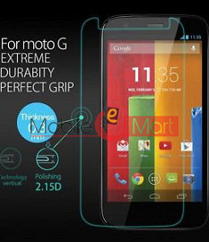 Motorola Moto G Tempered Glass Scratch Gaurd Screen Protector Toughened Protective Film