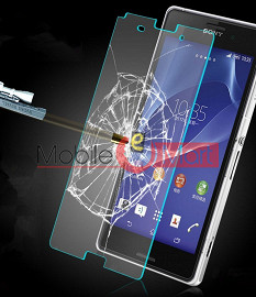 Sony Xperia Z3 Tempered Glass Scratch Gaurd Screen Protector Toughened Film