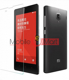 Xiaomi RedMi 1s Tempered Glass Scratch Gaurd Screen Protector Toughened Protective Film