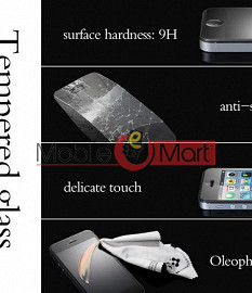 Tempered Glass Screen Protector for Celkon A 107+ Toughened Protective Film