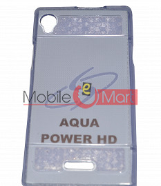 Fancy Mobile Back Cover For Aqua Power HD