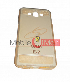 Fancy Mobile Back Cover For Samsung E7