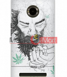 Fancy 3D Chillam Baba Mobile Cover For Micromax Yuphoria