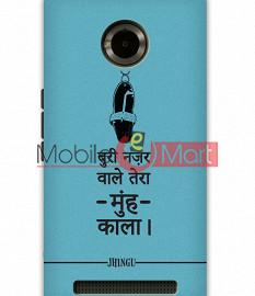 Fancy 3D Buri Nazar Mobile Cover For Micromax Yuphoria