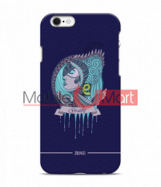 Fancy 3D Warrior Princess Mobile Cover For Apple Iphone 6 Plus