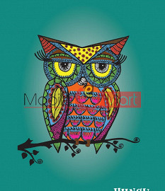 Fancy 3D Colorful Owl Mobile Cover For Apple Iphone 6 Plus