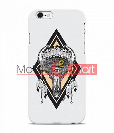 Fancy 3D Buffalo Skull Mobile Cover For Apple IPhone 6