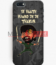 Fancy 3D Gabbar Mobile Cover For Apple IPhone 5C