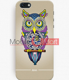 Fancy 3D Designer Owl Mobile Cover For Apple IPhone 5C