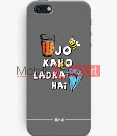 Fancy 3D Ladka Heera Hai Mobile Cover For Apple IPhone 5C