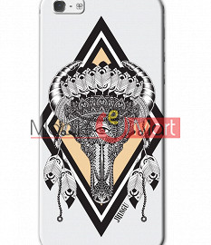 Fancy 3D Buffalo Skull Mobile Cover For Apple IPhone 5 & IPhone 5s