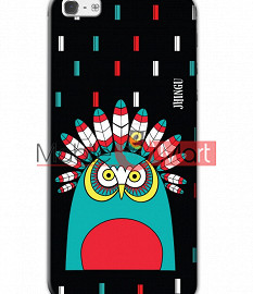 Fancy 3D African Owl Mobile Cover For Apple IPhone 5 & IPhone 5s