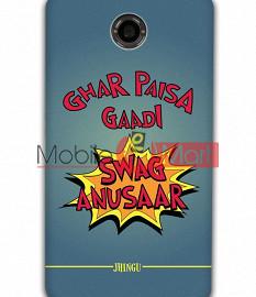 Fancy 3D Swag Anusaar Mobile Cover For Google Nexus 6
