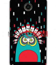 Fancy 3D African Owl Mobile Cover For Google Nexus 6