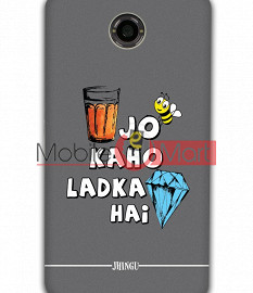 Fancy 3D Ladka Heera Hai Mobile Cover For Google Nexus 6