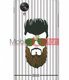 Fancy 3D Hipster Mobile Cover For Google Nexus 5