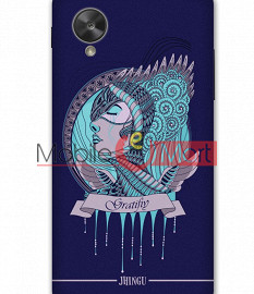 Fancy 3D Warrior Princess Mobile Cover For Google Nexus 5