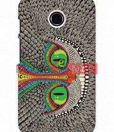 Fancy 3D Funky Billa Mobile Cover For Motorola Moto E
