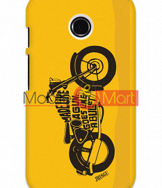Fancy 3D Royal Enfield Mobile Cover For Motorola Moto E