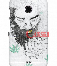 Fancy 3D Chillam Baba Mobile Cover For Motorola Moto E