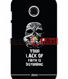 Fancy 3D Darth Vader Mobile Cover For Motorola Moto E