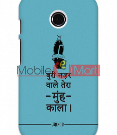Fancy 3D Buri Nazar Mobile Cover For Motorola Moto E