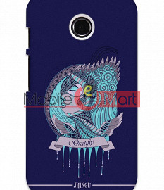 Fancy 3D Warrior Princess Mobile Cover For Motorola Moto E