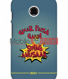 Fancy 3D Swag Anusaar Mobile Cover For Motorola Moto E