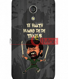 Fancy 3D Gabbar Mobile Cover For Motorola Moto G