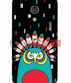 Fancy 3D African Owl Mobile Cover For Motorola Moto G
