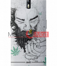 Fancy 3D Chillam Baba Mobile Cover For One Plus One