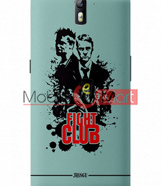 Fancy 3D Fight Club Mobile Cover For One Plus One
