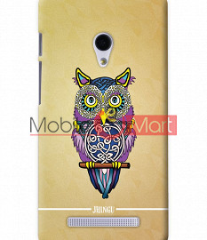 Fancy 3D Designer Owl Mobile Cover For Asus Zenphone 5
