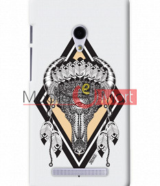 Fancy 3D Buffalo Skull Mobile Cover For Asus Zenphone 6