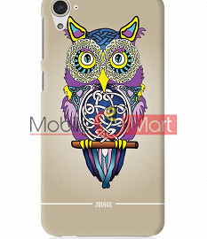 Fancy 3D Designer Owl Mobile Cover For HTC Desire 826