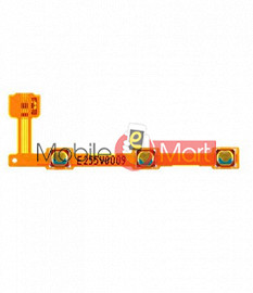 Power On Off Volume Button Key Flex Cable For Nokia X2
