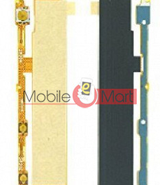 Power On Off Volume Button Key Flex Cable For Sony Xperia M C1904