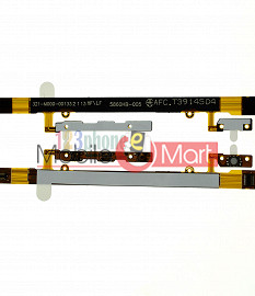 Power On Off Volume Button Key Flex Cable For Sony Xperia E3