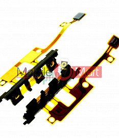 Power On Off Volume Button Key Flex Cable For Xperia Z1 Mini