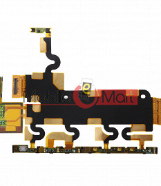 Power On Off Volume Button Key Flex Cable For Xperia Z1