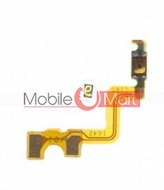 Power On Off Volume Button Key Flex Cable For Oppo A37