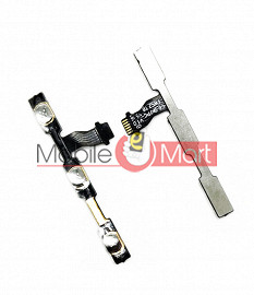 Power On Off Volume Button Key Flex Cable For Xiaomi Redmi Note 4X