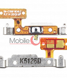 Power On Off Volume Button Key Flex Cable For SAMSUNG GALAXY E5